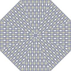 Spatula Spoon Pattern Golf Umbrellas by creativemom