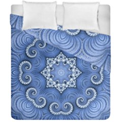 Awesome Kaleido 07 Blue Duvet Cover (double Size)