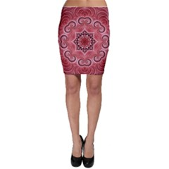 Awesome Kaleido 07 Red Bodycon Skirts by MoreColorsinLife