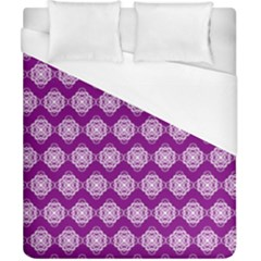 Abstract Knot Geometric Tile Pattern Duvet Cover Single Side (double Size) by creativemom
