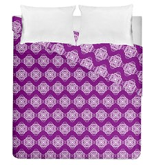 Abstract Knot Geometric Tile Pattern Duvet Cover (full/queen Size) by creativemom