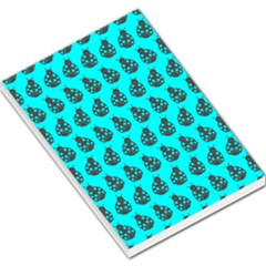 Ladybug Vector Geometric Tile Pattern Large Memo Pads