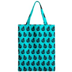Ladybug Vector Geometric Tile Pattern Zipper Classic Tote Bags by creativemom