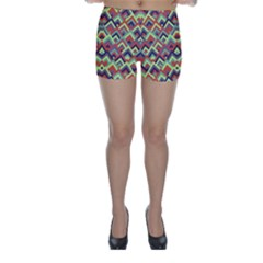 Trendy Chic Modern Chevron Pattern Skinny Shorts by creativemom