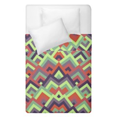 Trendy Chic Modern Chevron Pattern Duvet Cover (single Size) by creativemom
