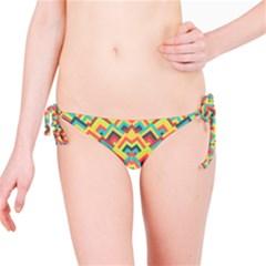 Trendy Chic Modern Chevron Pattern Bikini Bottoms by creativemom