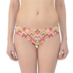 Trendy Chic Modern Chevron Pattern Hipster Bikini Bottoms by creativemom