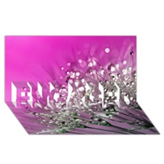 Dandelion 2015 0708 Engaged 3d Greeting Card (8x4)  by JAMFoto