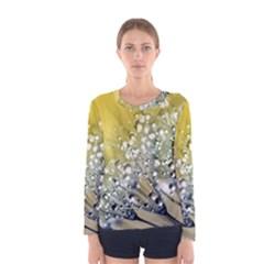 Dandelion 2015 0713 Women s Long Sleeve T Shirts by JAMFoto