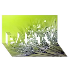 Dandelion 2015 0714 Party 3d Greeting Card (8x4)  by JAMFoto