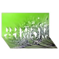 Dandelion 2015 0715 #1 MOM 3D Greeting Cards (8x4)