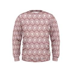 Gerbera Daisy Vector Tile Pattern Boys  Sweatshirts by creativemom