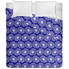 Gerbera Daisy Vector Tile Pattern Duvet Cover (double Size) by creativemom