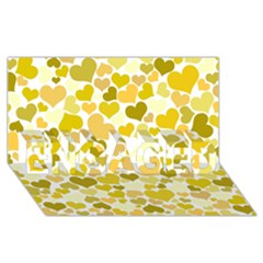 Heart 2014 0905 Engaged 3d Greeting Card (8x4)  by JAMFoto