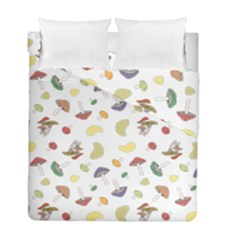 Mushrooms Pattern Duvet Cover (twin Size) by Famous