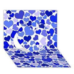 Heart 2014 0923 Heart 3d Greeting Card (7x5)  by JAMFoto