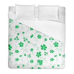 Sweet Shiny Floral Green Duvet Cover Single Side (twin Size) by ImpressiveMoments