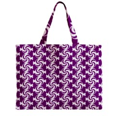 Candy Illustration Pattern Zipper Tiny Tote Bags