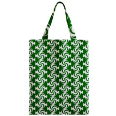 Candy Illustration Pattern Zipper Classic Tote Bags