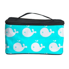 Cute Whale Illustration Pattern Cosmetic Storage Cases by creativemom