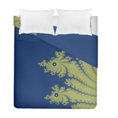 Blue and Green Design Duvet Cover (Twin Size) by theunrulyartist