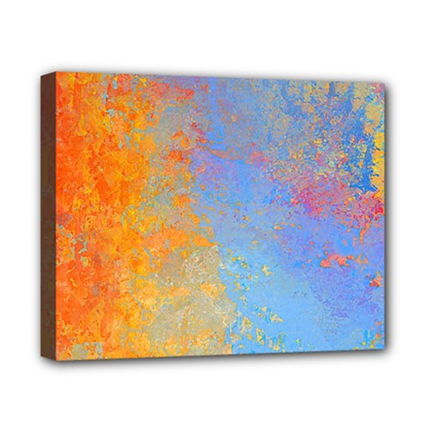 Hot And Cold Canvas 10  X 8  by theunrulyartist