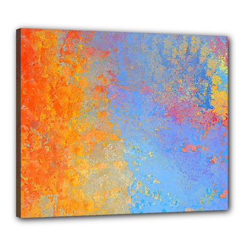 Hot And Cold Canvas 24  X 20  by theunrulyartist
