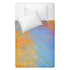 Hot And Cold Duvet Cover (single Size) by digitaldivadesigns