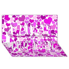 Heart 2014 0930 Laugh Live Love 3d Greeting Card (8x4)  by JAMFoto