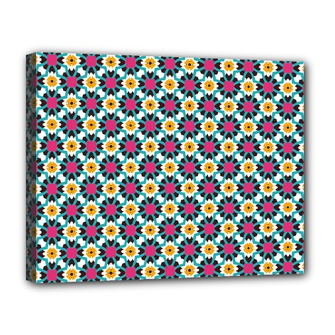 Cute Pattern Gifts Canvas 14  X 11  by creativemom