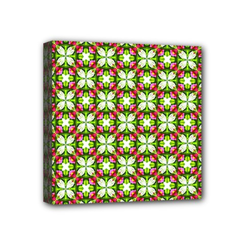 Cute Pattern Gifts Mini Canvas 4  X 4  by creativemom