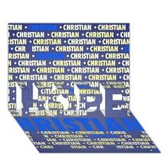 Christian Hope 3d Greeting Card (7x5)