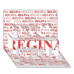 Regina Get Well 3d Greeting Card (7x5)