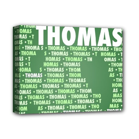 Thomas Deluxe Canvas 14  X 11  by MoreColorsinLife
