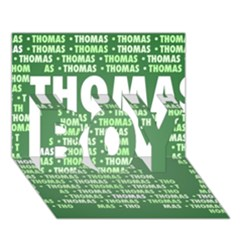 Thomas Boy 3d Greeting Card (7x5)