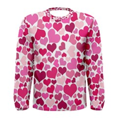 Heart 2014 0933 Men s Long Sleeve T Shirts