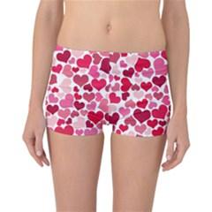 Heart 2014 0934 Reversible Boyleg Bikini Bottoms by JAMFoto