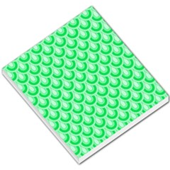 Awesome Retro Pattern Green Small Memo Pads by ImpressiveMoments