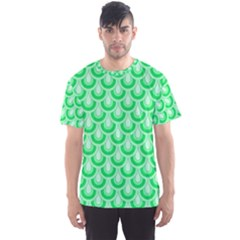 Awesome Retro Pattern Green Men s Sport Mesh Tees by ImpressiveMoments