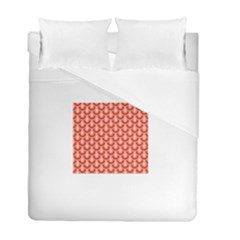 Awesome Retro Pattern Red Duvet Cover (twin Size) by ImpressiveMoments
