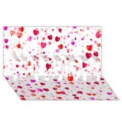 Heart 2014 0601 #1 Mom 3d Greeting Cards (8x4)  by JAMFoto