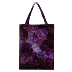 Space Like No 1 Classic Tote Bags by timelessartoncanvas