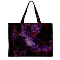Space Like No 1 Zipper Tiny Tote Bags by timelessartoncanvas