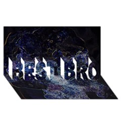 Space Like No 3 Best Bro 3d Greeting Card (8x4)