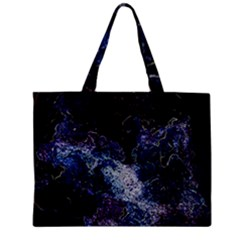 Space Like No 3 Zipper Tiny Tote Bags by timelessartoncanvas