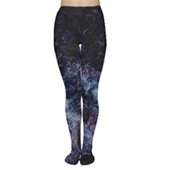 Space Like No 3 Women s Tights by timelessartoncanvas