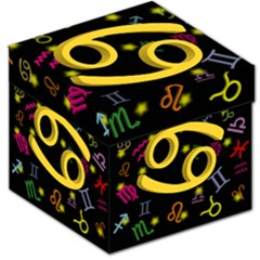 Cancer Floating Zodiac Sign Storage Stool 12   by theimagezone
