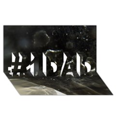 Space Like No 6 #1 Dad 3d Greeting Card (8x4)
