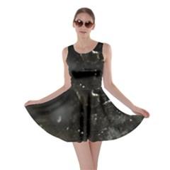 Space Like No.6 Skater Dresses by timelessartoncanvas