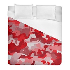 Camouflage Red Duvet Cover Single Side (twin Size)